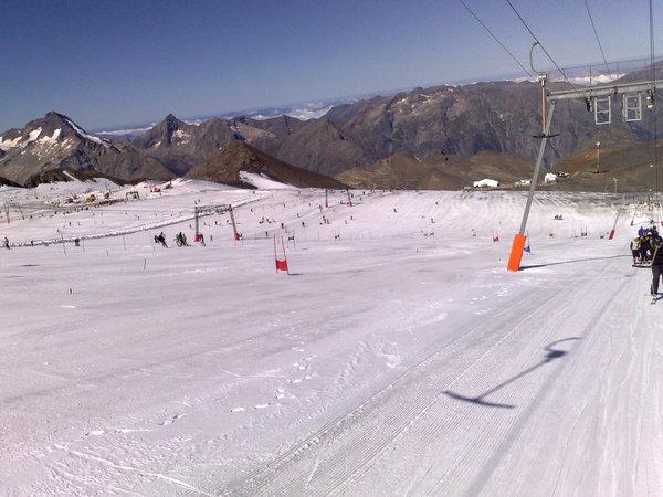 Sciare a Les Deux Alpes