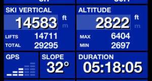 Ski tracks per iPhone