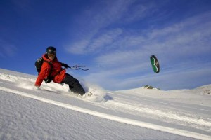 Snowkiting, Diavolezza Bernina