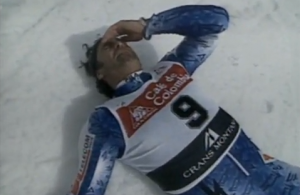 video ultima vittoria di Alberto Tomba