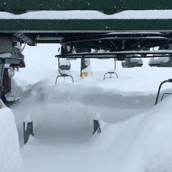 Sciare a Prato Nevoso: Marzo 2015 con quasi 4 metri di neve...