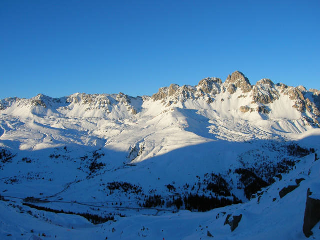 Sciare Passo San Pellegrino