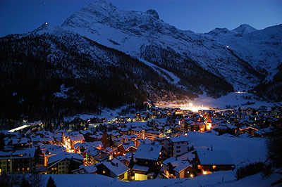 Sciare a Saas Fee