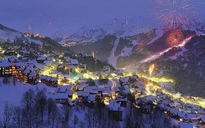 Sciare a Meribel - Francia