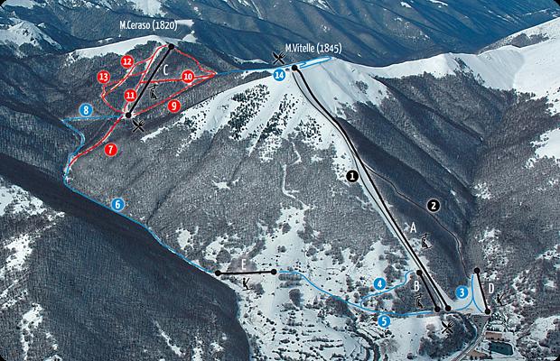 Photo of Sciare a Pescasseroli in Abruzzo, recensione di piste ed impianti