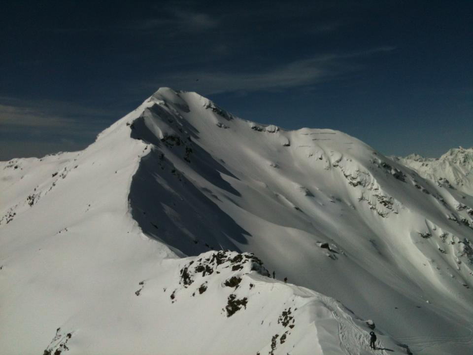 Photo of il panorama da Bormio 3000