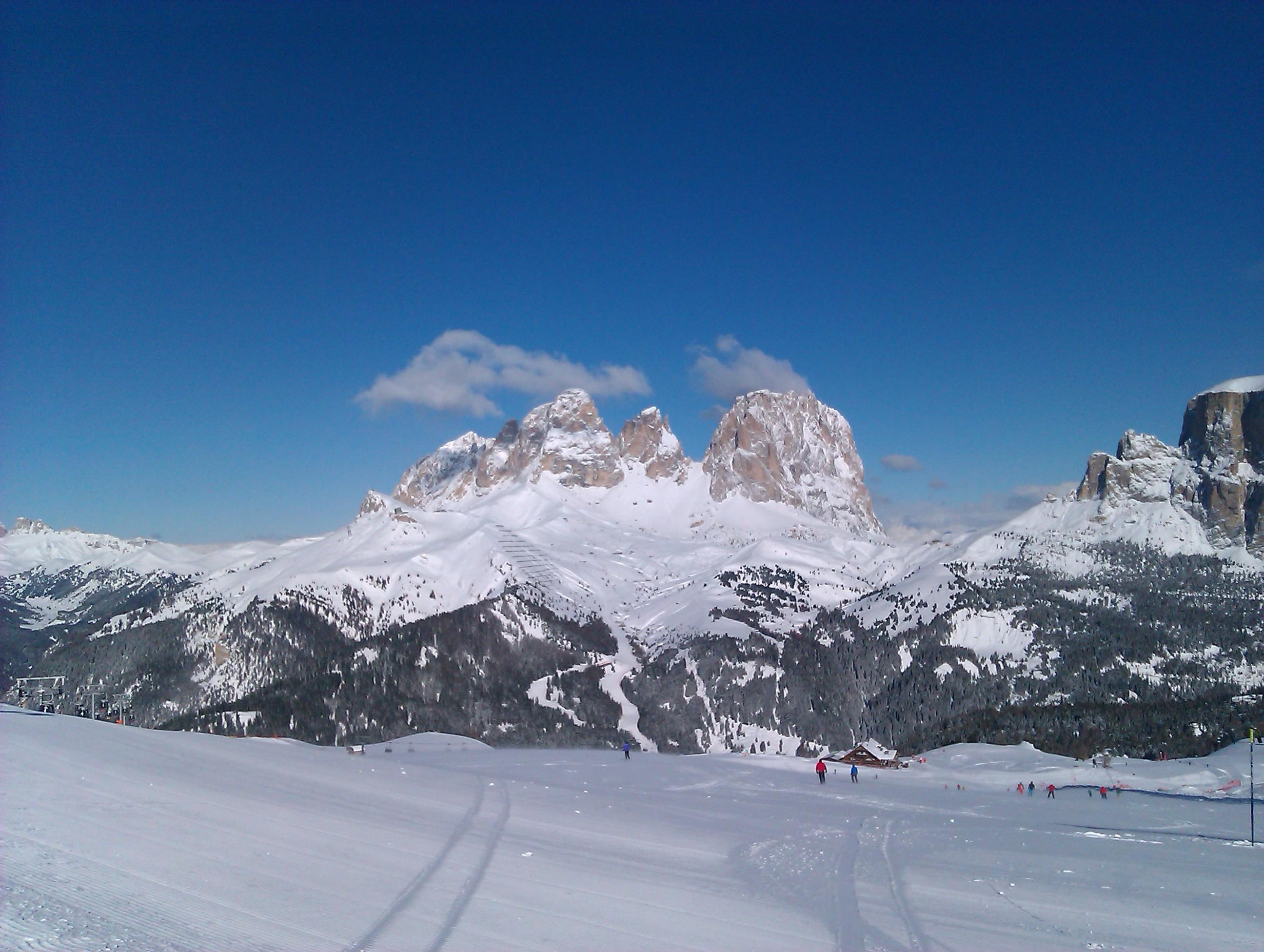 Photo of Ski area Belvedere Canazei: foto panoramiche