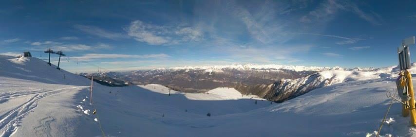 foto panoramica da Montecampione