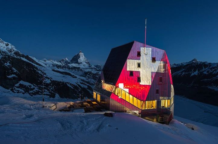 Photo of The new Monte Rosa Hut a Zermatt