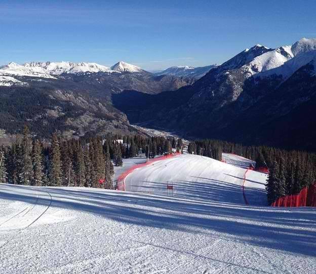 Sciare a Copper Mountain: la pista dove si svolgono le gare di discesa libera