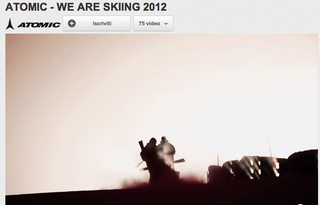 Video ATOMIC - WE ARE SKIING 2012