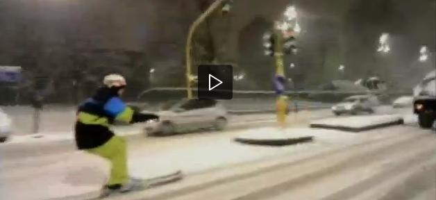 Sciare a Milano