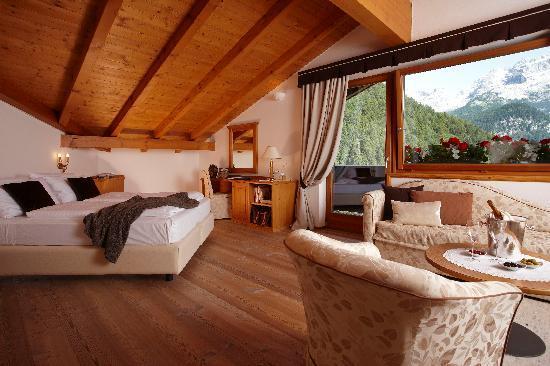 Bio Hotel Ermitage, gli interni di una stanza