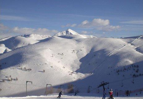 piste da sci di Montecampione in Valcamonica