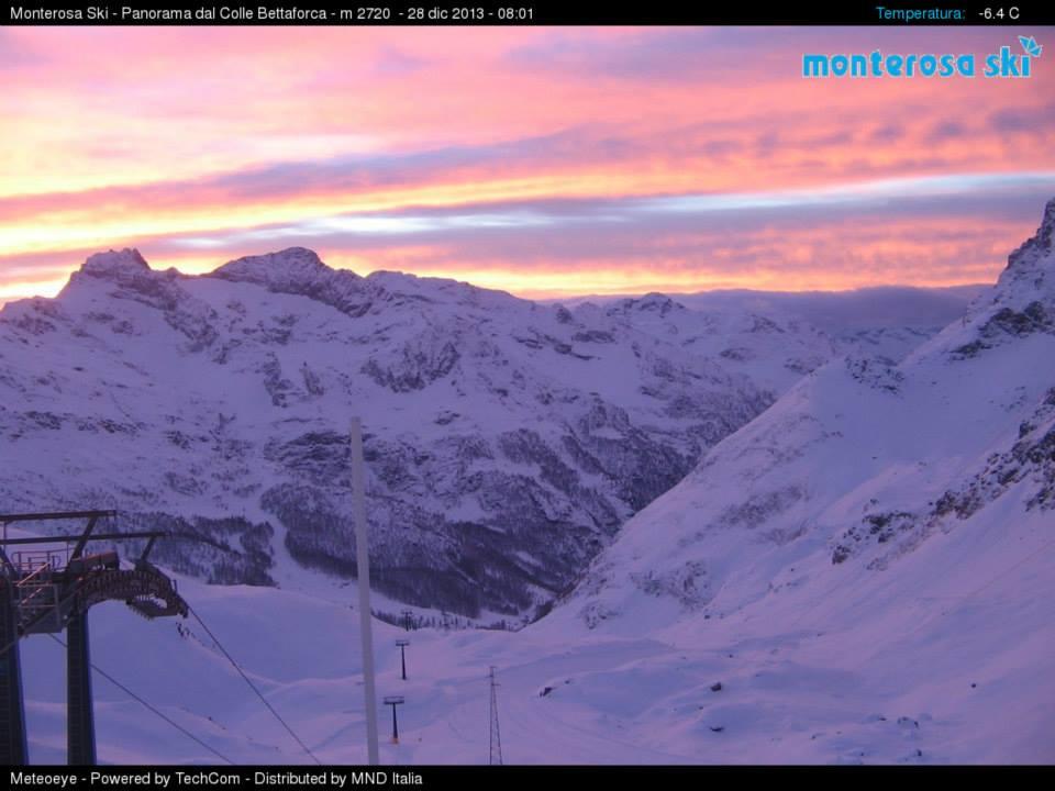 Photo of Piste tutte aperte nel Monterosa Ski