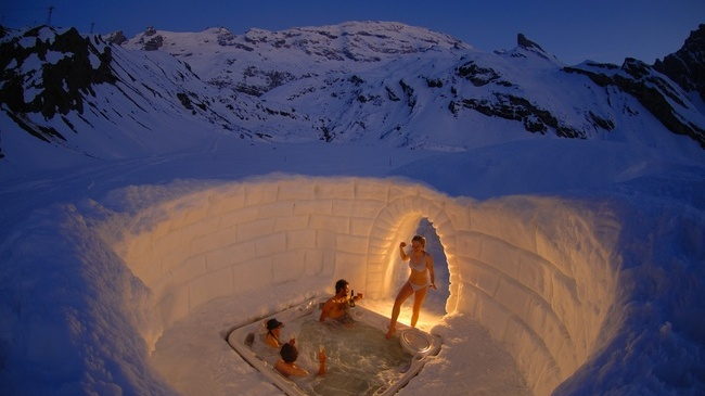Villaggio igloo di engelberg titlis in svizzera skimania for Berg piscine toscana