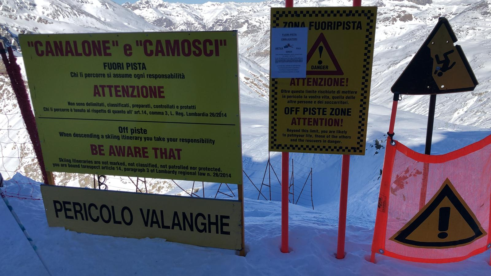 Photo of Canalone di Madesimo: splendido fuoripista o pista difficilissima?