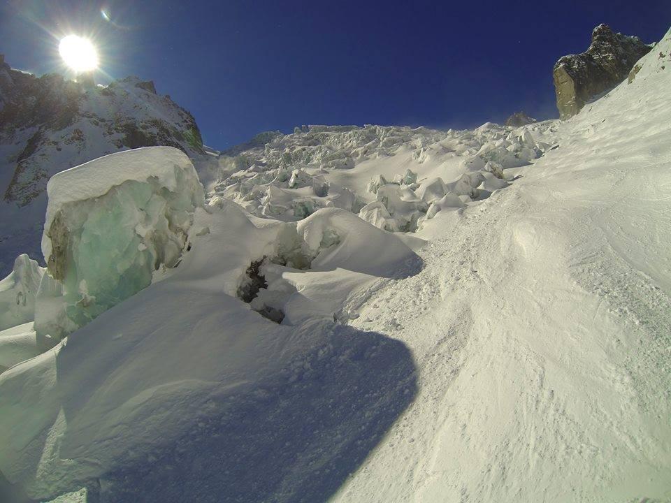 Vallée Blanche Chamonix: Panorama dalla Vallée blanche