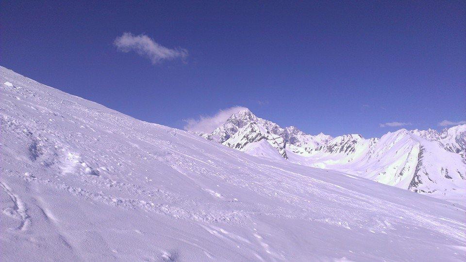 Monte Bianco visto da La Thuile