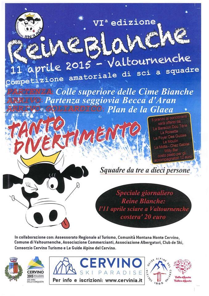 Reine Blanche 2016 a Valtournenche
