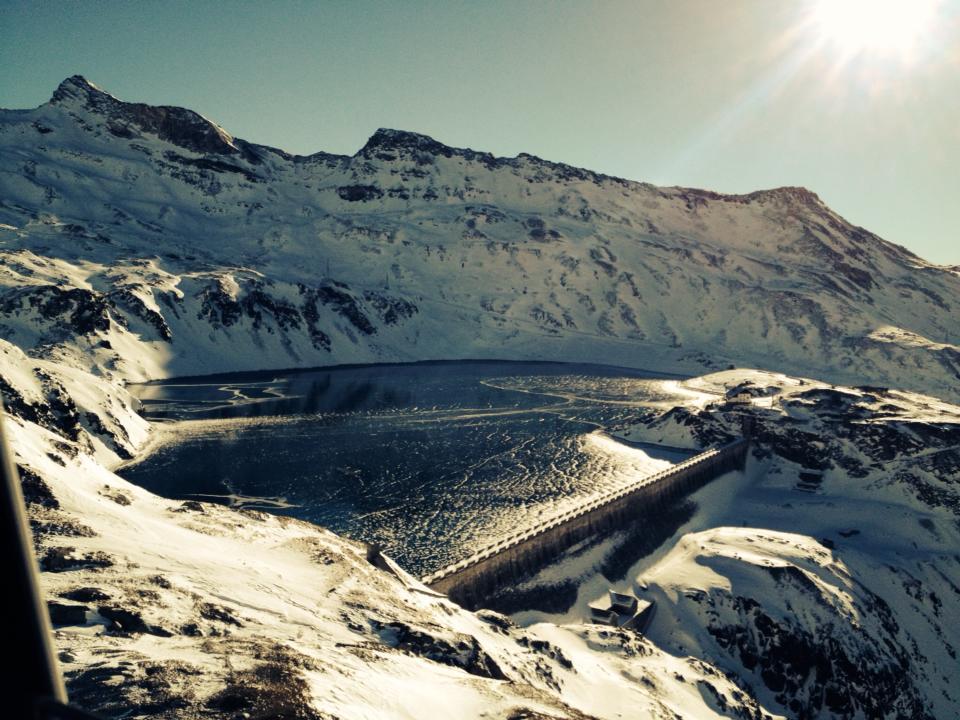 Foto del lago di Goillet