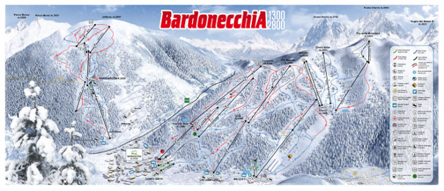 Bardonecchia-cartina
