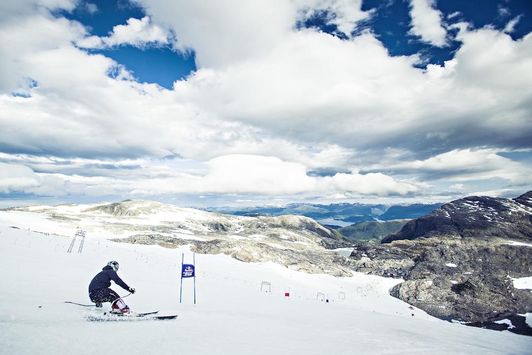 Photo of Sci estivo in Norvegia: Ghiacciaio Folgefonna