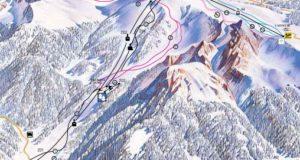 mappa piste Moena