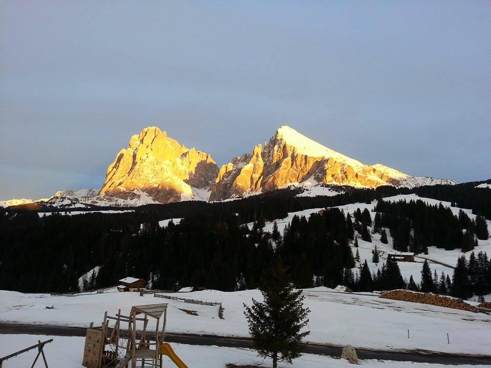 Alpe di Siusi in località Saltria
