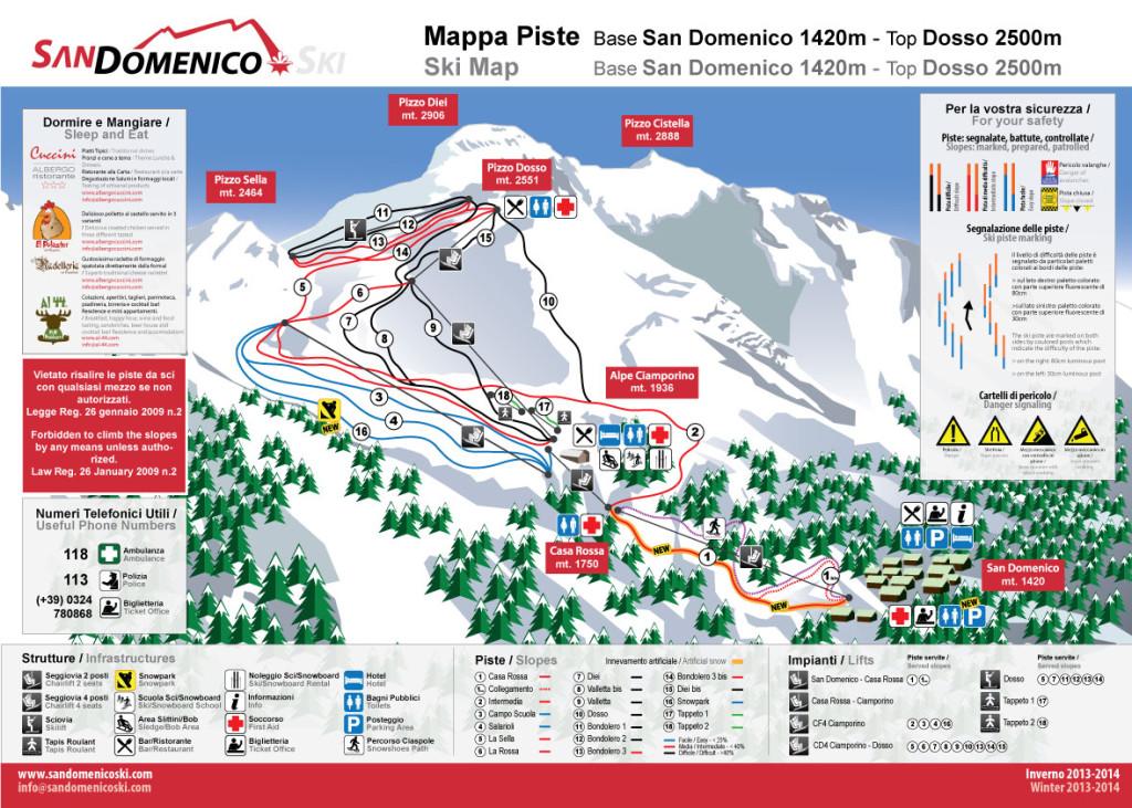 Sciare a San Domenico di Varzo