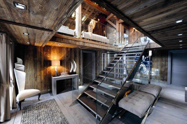Chalet brickell uno splendido hotel a megeve skimania for Disegni di chalet svizzeri