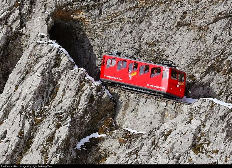 Monte Pilatus ferrovia