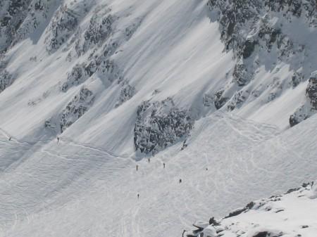 Giro Monterosa Ski con gli sci