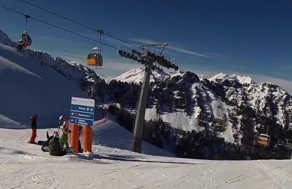 Photo of Recensione della Pista Piavac Alpe Lusia a Moena