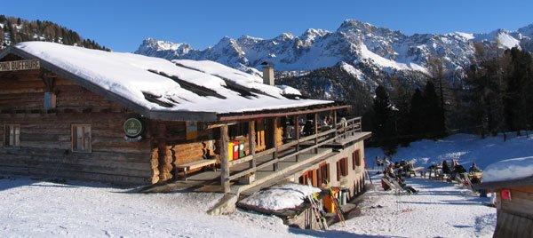 Ski Area Buffaure: il rifugio Buffaure