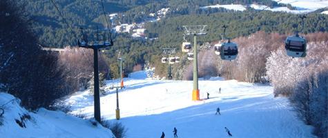 Sciare a Camigliatello Silano: la nuova cabinovia