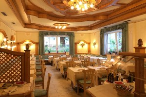 Hotel Garden: l'angolo ristorazione.