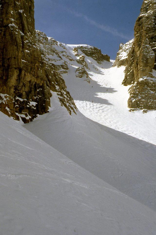 sciare freeride val de mezdì: un giornata stupenda con neve ottima per sciare fuoripista