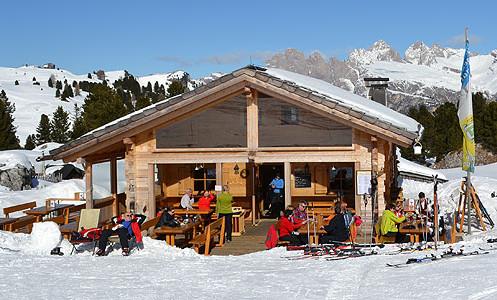 Photo of Recensione della Malga Sella Alm Hütte a Selva di Val Gardena sul Passo Sella