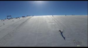 video di sci estivo a Les Deux Alpes