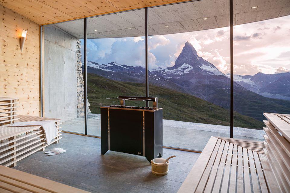 Recensione hotel Riffelhaus: spa e sauna