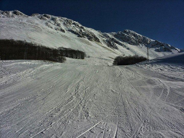 Sciare a Leonessa Campo Stella: pista Rubbio