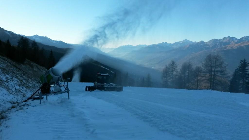 pista Panoramica Skiarea Baradello