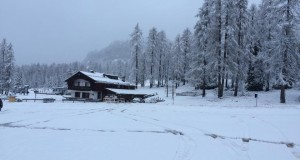 rifugio capanna tondi a Cortina