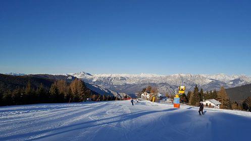 Panorama dalle piste da sci di Folgaria
