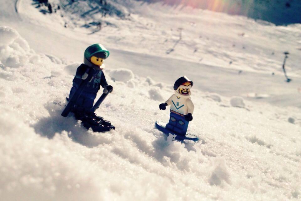 Photo of Lego sugli sci in Val Gardena