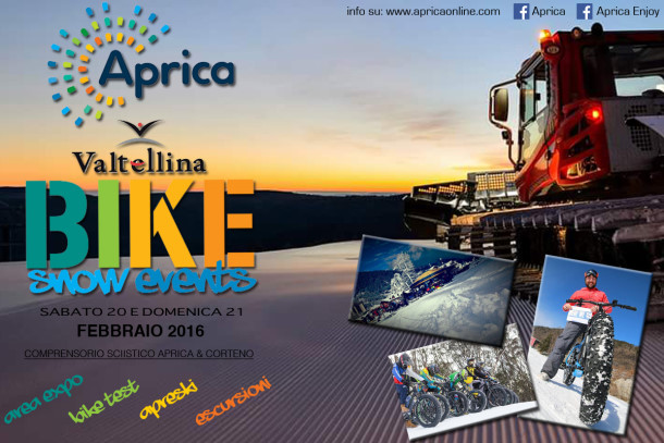 Photo of APRICA & VALTELLINA BIKE SNOW EVENTS