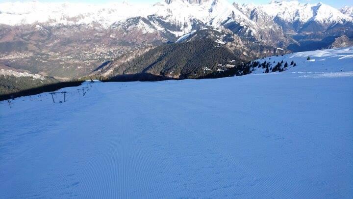 Monte Pora - parte alta della pista Coppa Europa