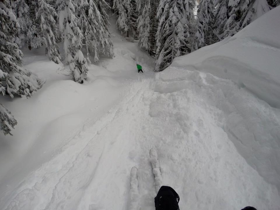 freeride nel civetta ski