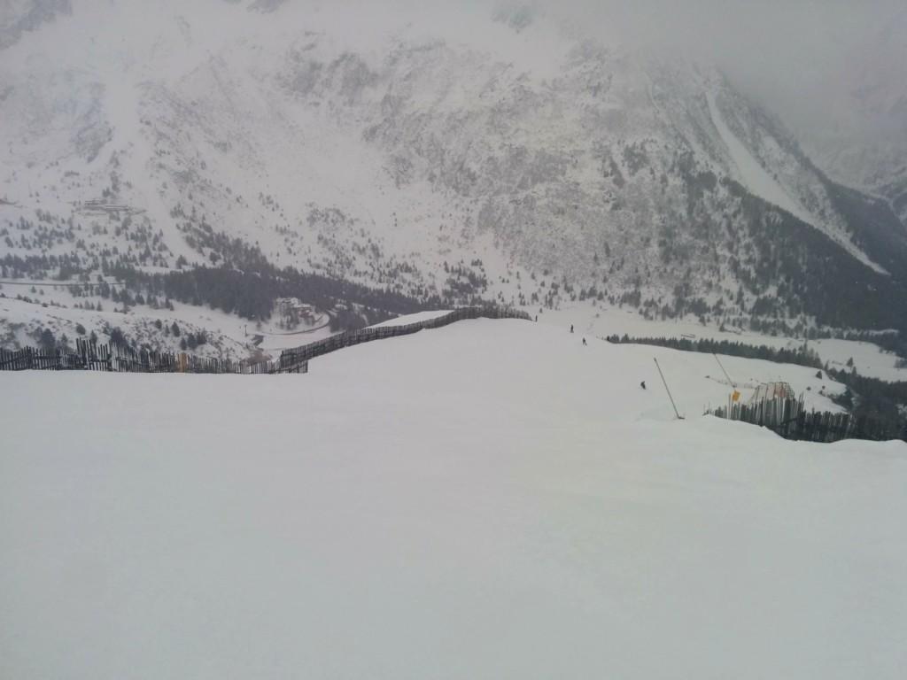 alpino verso la parte finale